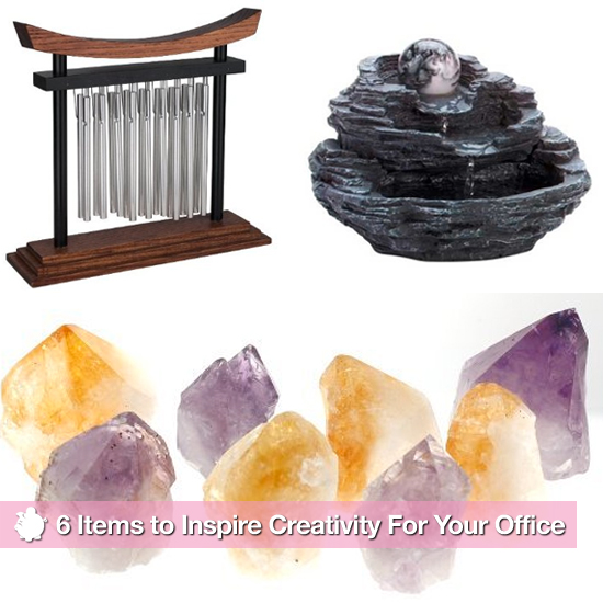 6 Items For a Zen Home Office