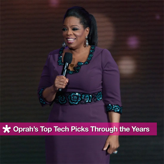 Oprah's Favorite Things: Her Top Tech Picks Through the Years