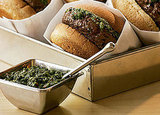 South Beach Diet Chimichurri Burgers