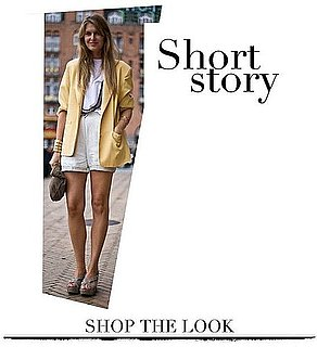 Shopping Streetstyle Inspiration: Polished Shorts for Spring and Summer 2011