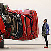 Car Crash Sculpture at Saatchi Gallery
