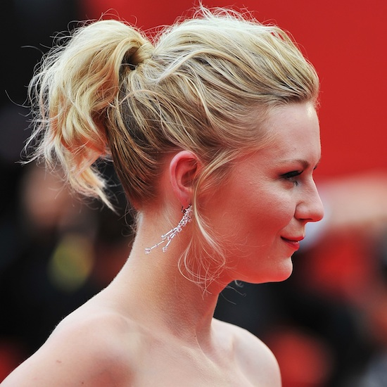 The Kirsten Dunst Hair-Wrapped Ponytail