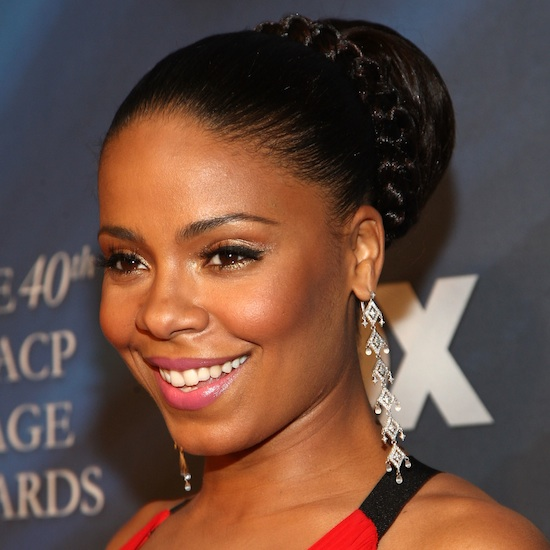 The Sanaa Lathan Braided Bun