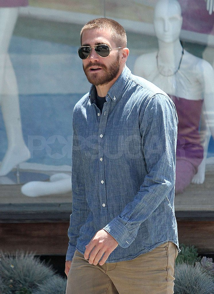 Jake Freshens Up With a Buzz Cut Ahead of the Holiday Weekend