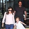 Pictures of Ben Affleck and Jennifer Garner Together With Violet Affleck