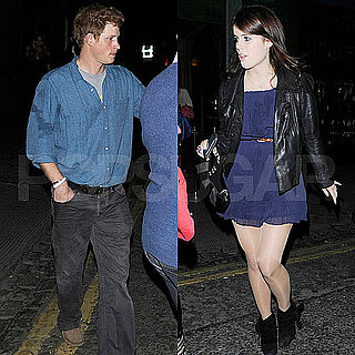Prince Harry and Princess Eugenie Clubbing Pictures