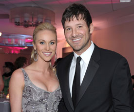 Tony Romo Marries Candice Crawford at Arlington Hall in Dallas