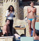 Bar and then-boyfriend Leonardo DiCaprio hung out in Cabo in late 2009.