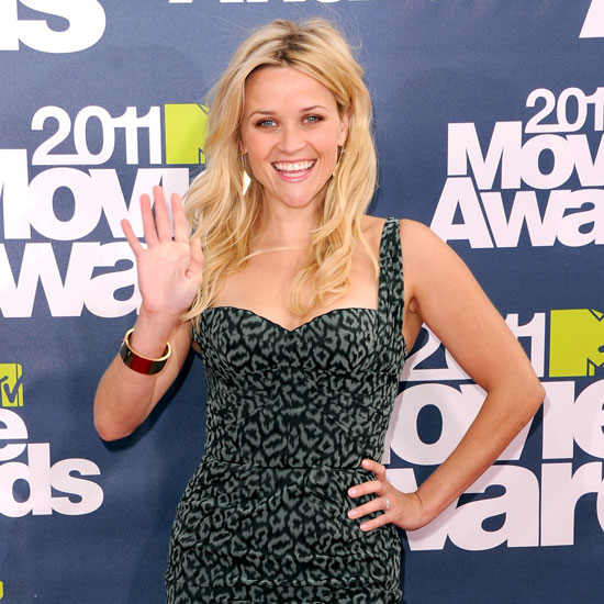 Reese Witherspoon Rocks High Heels to Accept Tonight's MTV Generation Award!