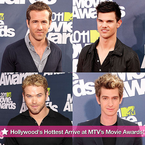 Ryan Reynolds, Taylor Lautner, Andrew Garfield and More Hot Guys at MTV Movie Awards Pictures