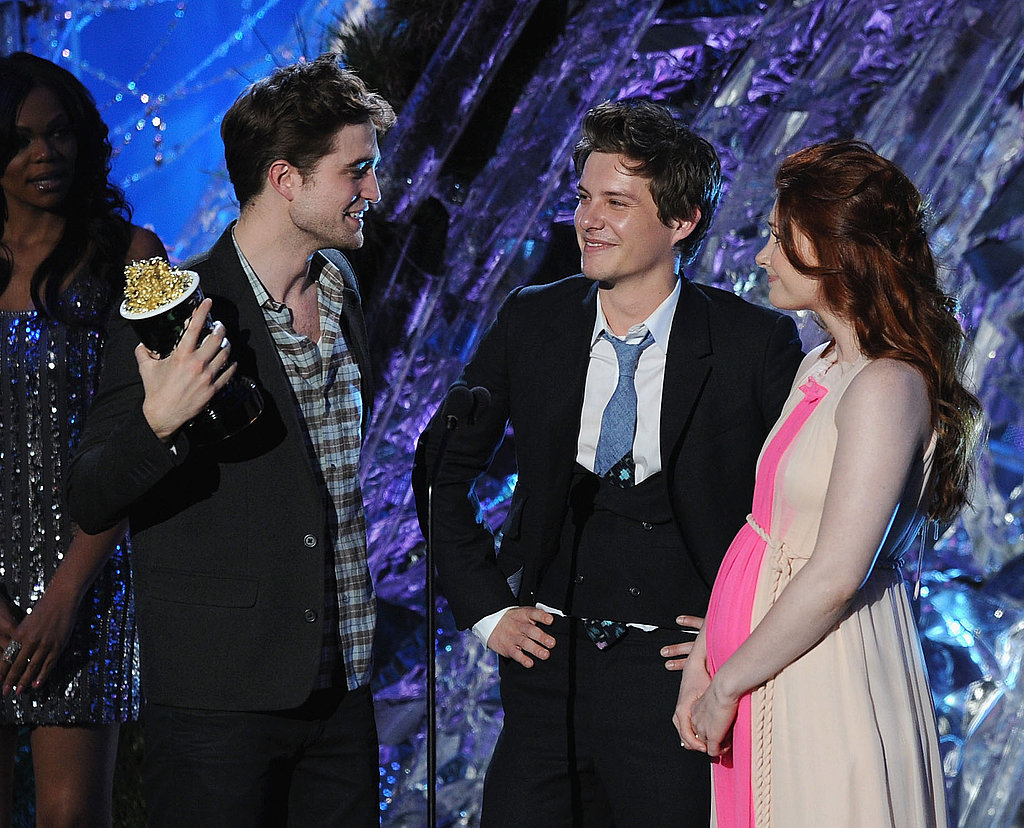 Robert, Kristen, and Taylor — See All the Pictures of the Twilight Stars Inside the MTV Movie Awards!