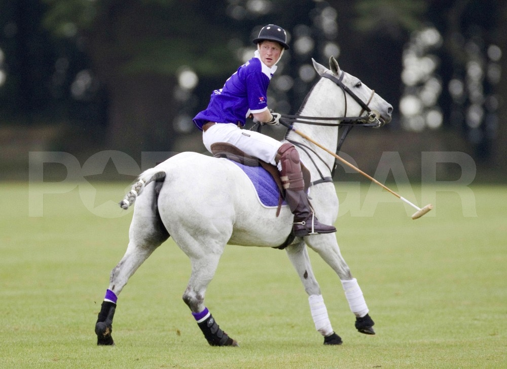 Prince Harry Goes From the Stands to the Saddle For Even More Polo