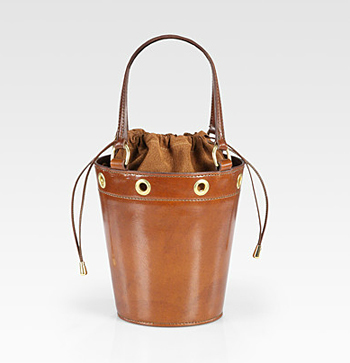Saddlers Union Mini-Leather Bucket Bag Saks Fifth Avenue, $890