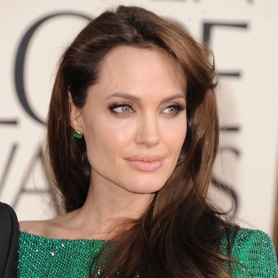 When Angelina was spotted on camera at the 2011 Golden Globes, casually reapplying her lip gloss, a frenzy ensued to find out what brand she used (it was Chantecaille's Brilliant Gloss in Love ($33), in case you were wondering).