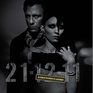 The Girl With the Dragon Tattoo Poster With Daniel Craig and Naked Rooney Mara