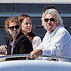 Pictures of Princess Beatrice on Richard Branson's Yacht