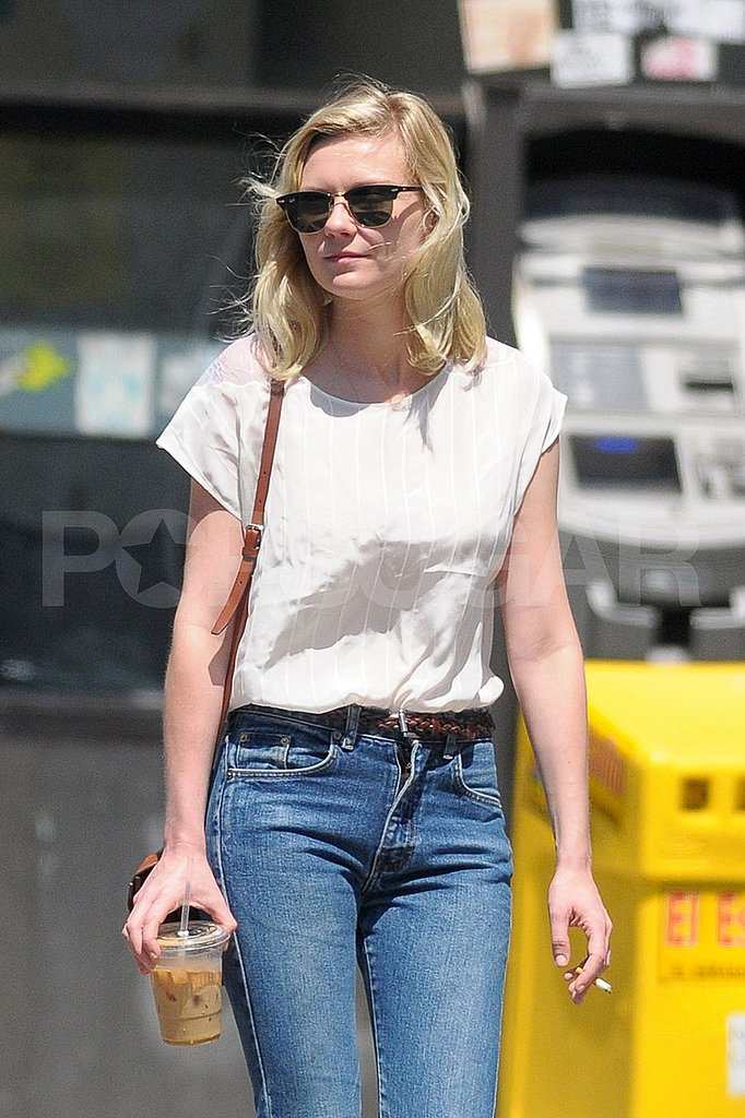 Kirsten Dunst Caffeinates Following Her Big Cannes Win