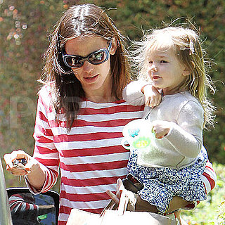 Jennifer Garner Pictures With Seraphina Affleck