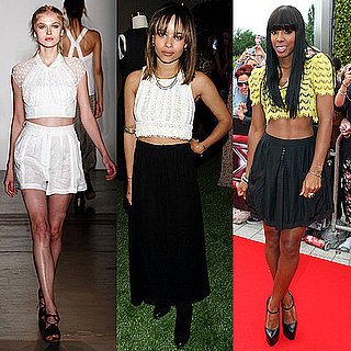 Celebrity Style Trends: Crop Tops