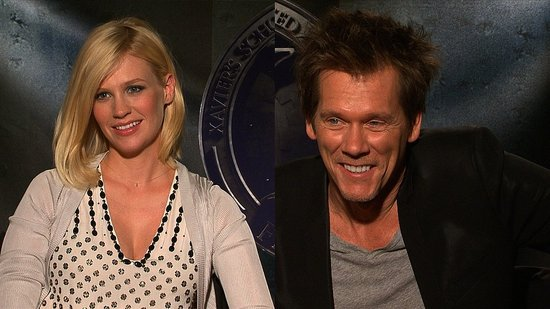 "Video: January Jones Has Been ""Nesting"" After X-Men"