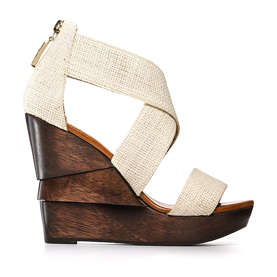 Diane von Furstenberg Opal Sandal, Foot Notes, $295