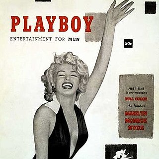 Marilyn Monroe Nude Playboy Photo Scandal