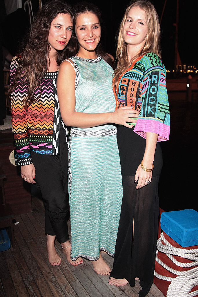 Tatiana Santo Domingo, Margherita Missoni, Eugenie Niarchos