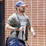 Shia LaBeouf Bulks Up at the Gym and Reveals Why Megan Fox Really Left Transformers
