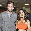 Bradley Cooper, Salma Hayek, and Her Husband at the French Open