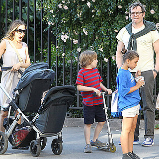 Sarah Jessica Parker Pictures With Twins Marion and Tabitha Broderick