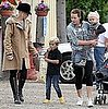 Gwen Stefani, Zuma, and Kingston Rossdale Picking Produce Vegetables