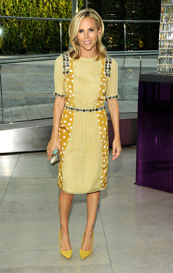 Tory Burch in her own design