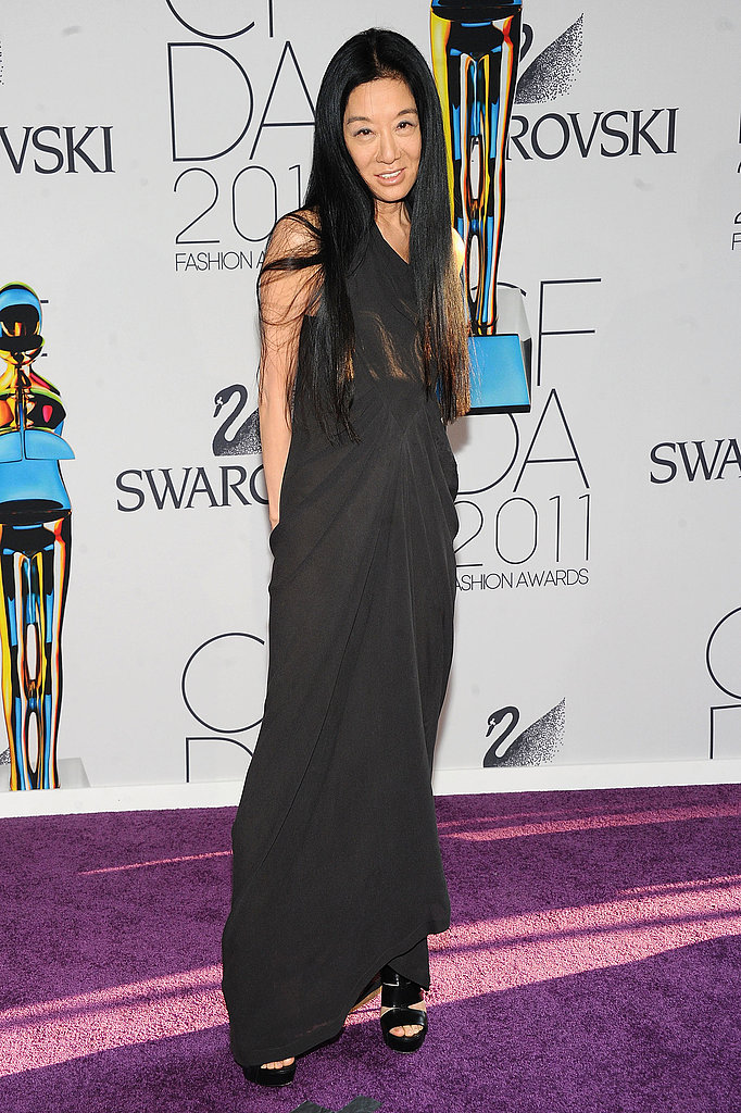 Vera Wang, in her own design