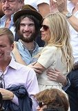 Sienna Miller and a Seriously Bearded Tom Sturridge Join Anna Wintour For the French Open
