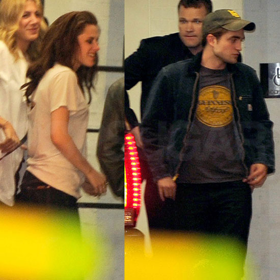 Rob and Kristen Get Close and Cuddle as They Finish Out a Winning MTV Movie Awards Night