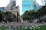 Yoga in Bryant Park