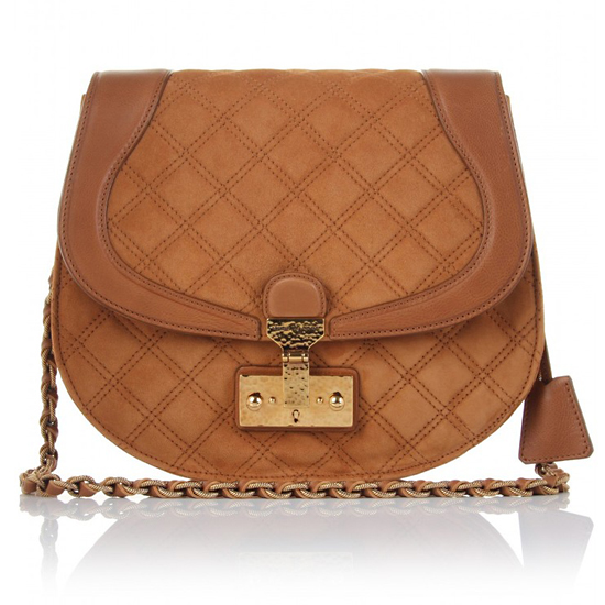 Marc Jacobs Safron Suede Shoulder Bag, $1525