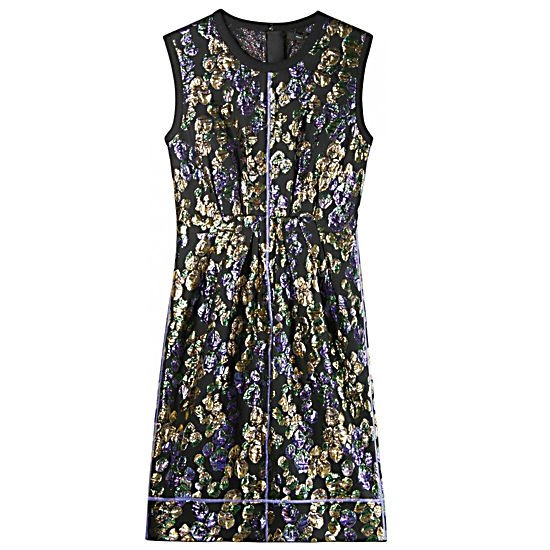 Marc Jacobs Brocade Cotton Dress, $525
