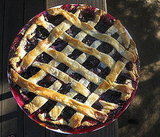 Lattice-Topped Cherry Pie