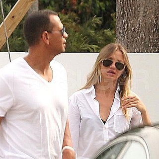 Cameron Diaz and Alex Rodriguez Pictures in Miami