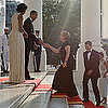 Pictures of Michelle Obama at State Dinner For Angela Merkel