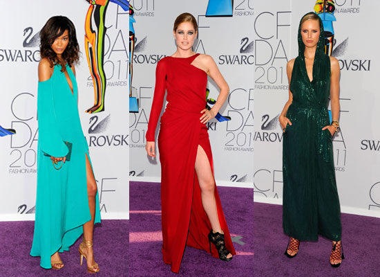 2011 CFDA Fashion Awards: Model Moment
