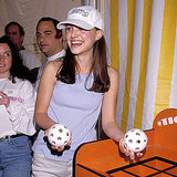 Natalie Portman played along at a Kids For Kids benefit carnival in NYC in 1999.