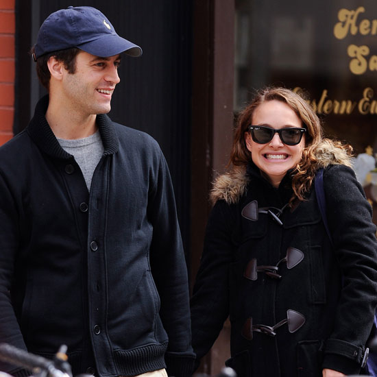 Natalie Portman and her fiancé, Benjamin Millepied, shared a walk around NYC in 2011.