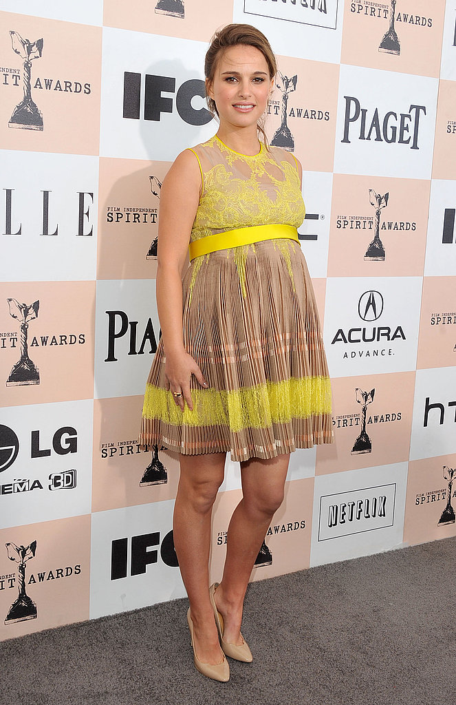 Natalie Portman in Givenchy at the 2011 Independent Spirit Awards