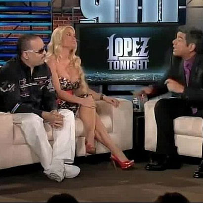 Ice-T and Coco on Lopez Tonight