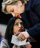 During the 2008 Super Tuesday primaries, Huma worked closely with Hillary Clinton.