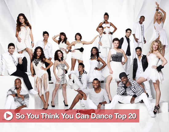 Meet the Top 20 of So You Think You Can Dance Season 8!