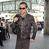 Ryan Reynolds Flying Out of LA Pictures