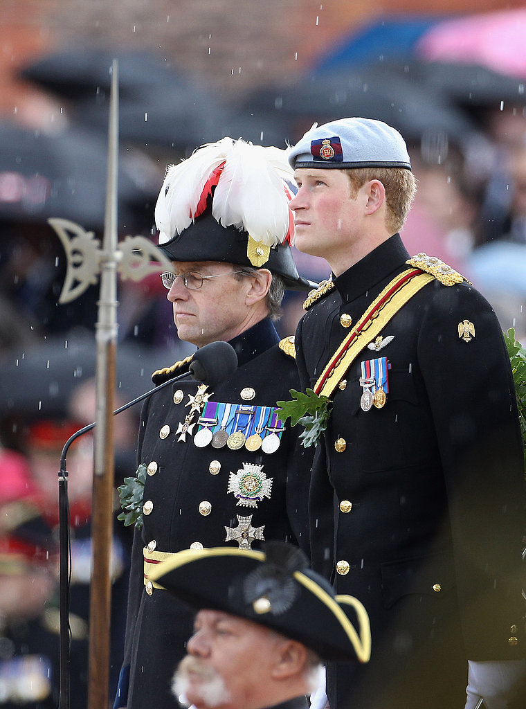 Prince Harry Suits Up and Talks Marriage at Royal Event For Vets